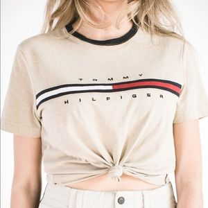 Tommy Hilfiger Crop Top Sz S/M